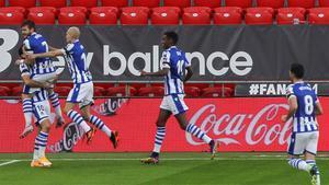 La Real Sociedad se lleva los tres puntos en el derbi vasco
