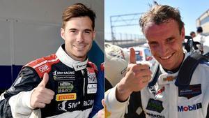 Miguel Molina y Antonio García, ante el reto de Le Mans
