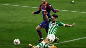 Álex Moreno, centrado en el Real Betis