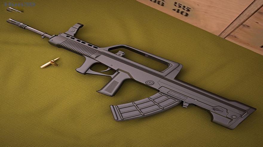 QBZ-95 el fusil de asalto del ejército chino