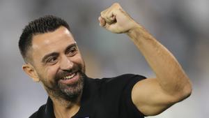 Xavi Hernández, actual técnico del Al-Sadd