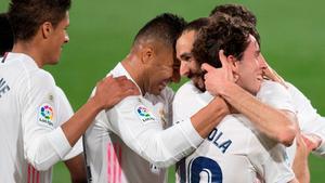 El Real Madrid consigue los tres puntos en el Carranza