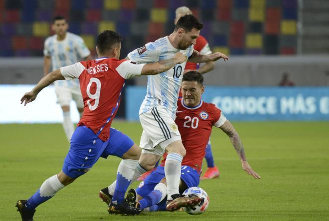 Argentina y Chile no pasaron del empate
