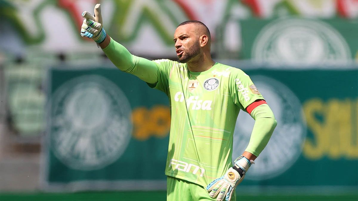 Weverton, portero del Palmeiras y de la Seleçao