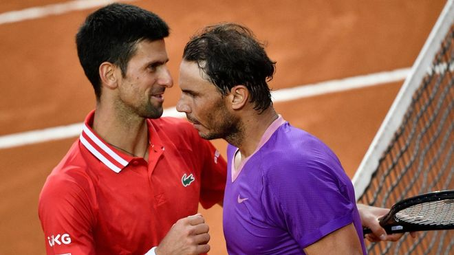 Sus últimas cinco disputas han sido en finales, con tres campeonatos para Nadal y dos para Djokovic