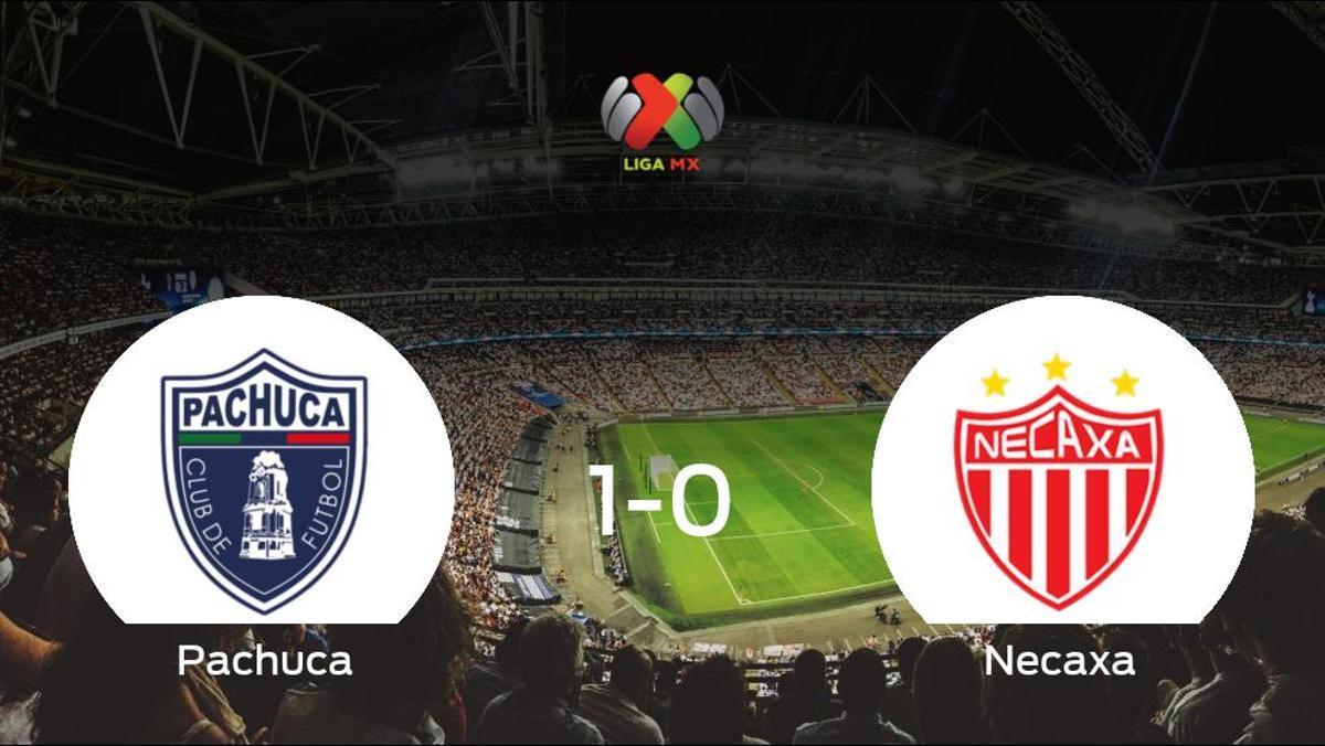El Pachuca gana 1-0 al Necaxa y se lleva los tres puntos