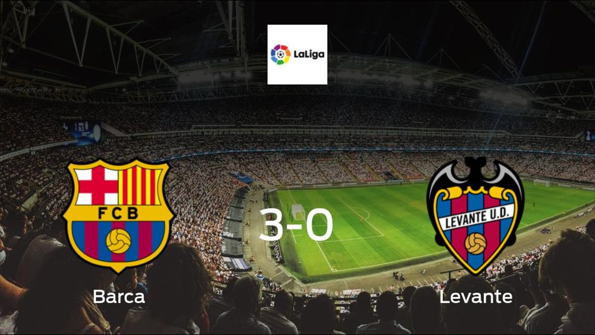 Barca run riot, scoring 3 without reply at the Nou Camp