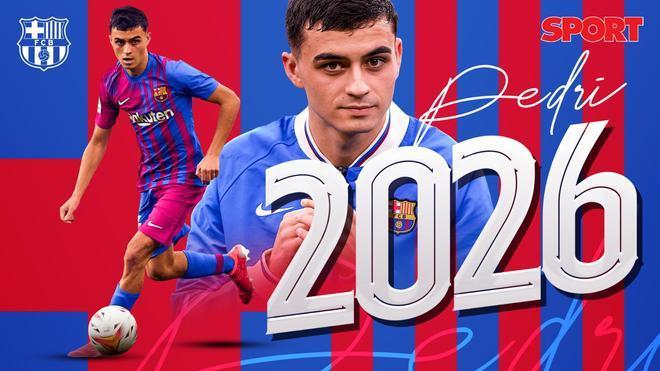 Pedri: Mi ilusión es estar en el Barça muchos años