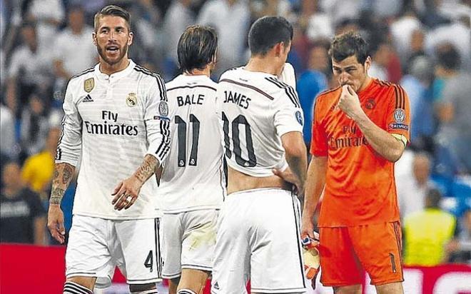 Los jugadores del Madrid han vuelto a decepcionar