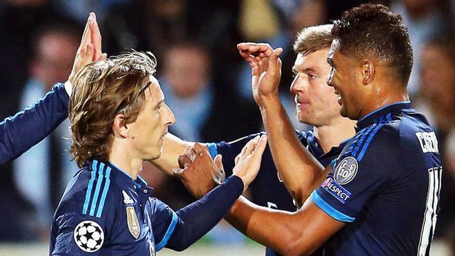 El resurgir de Casemiro, Modric y Kroos ante el Clásico