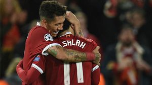LACHAMPIONS | Liverpool - Roma (5-2): El primer gol de Firmino