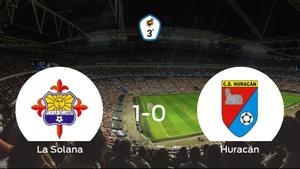 La Solana consigue la victoria en casa frente al Huracán de Balazote (1-0)