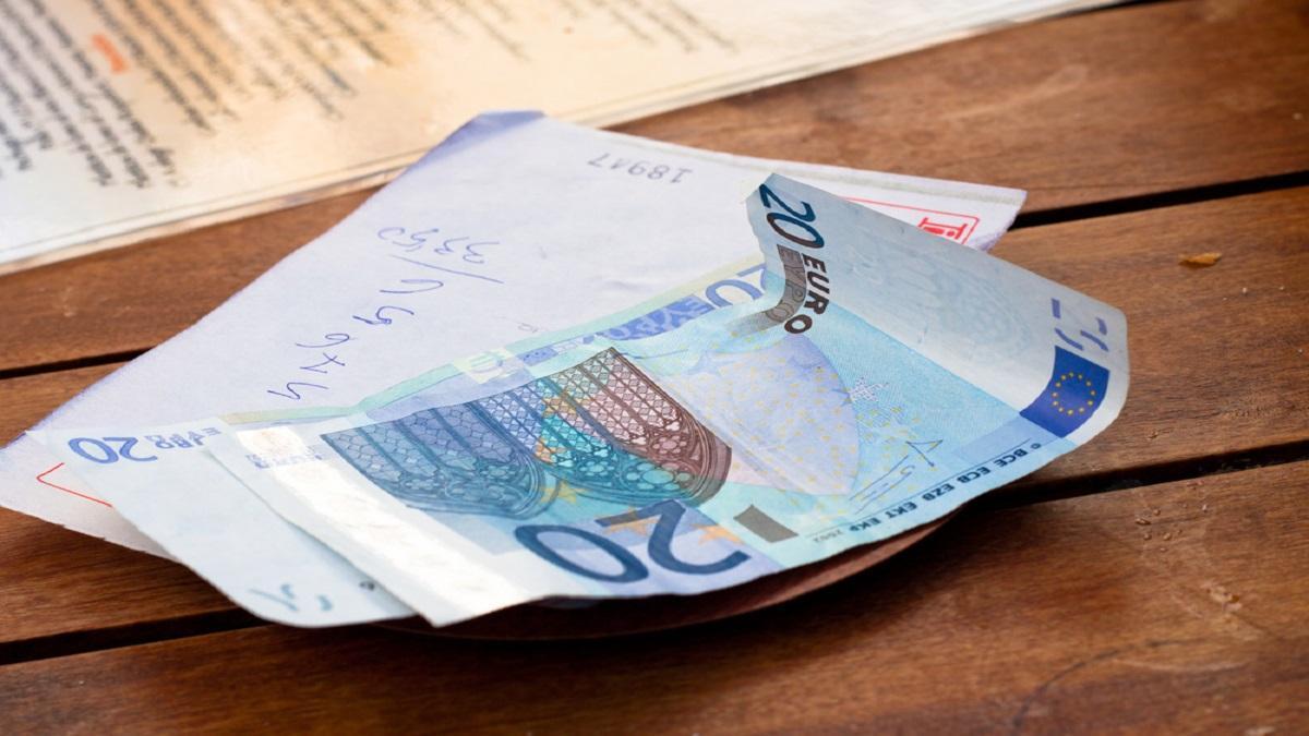 Un billete de 20 euros