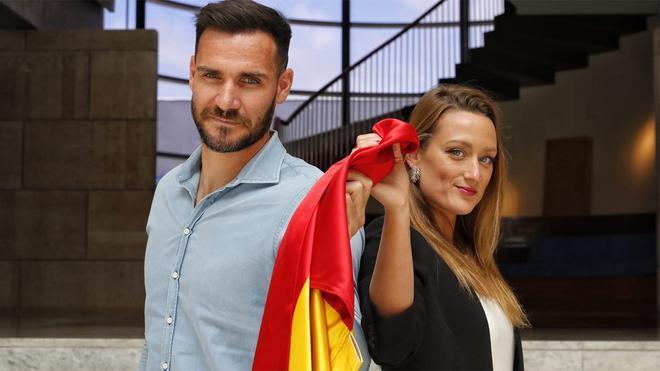 Saúl Craviotto y Mireia Belmonte, abanderados españoles en Tokio 2020