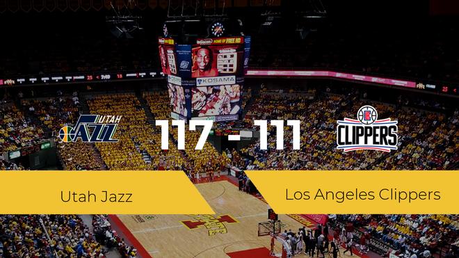 Utah Jazz se impone a Los Angeles Clippers por 117-111