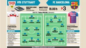 La previa del VfB Stuttgart - FC Barcelona