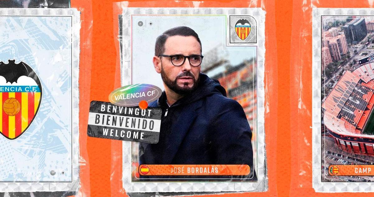 Así ha anunciado el Valencia el fichaje de Bordalás