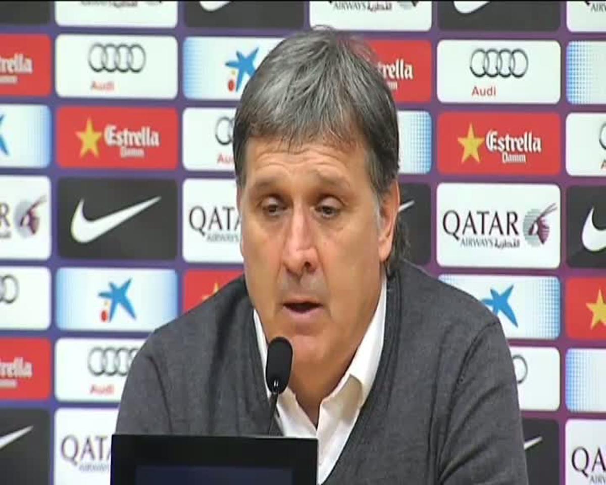 Martino: Si yo fuese aficionado del Barça y trabajara al día siguiente, tampoco habría venido