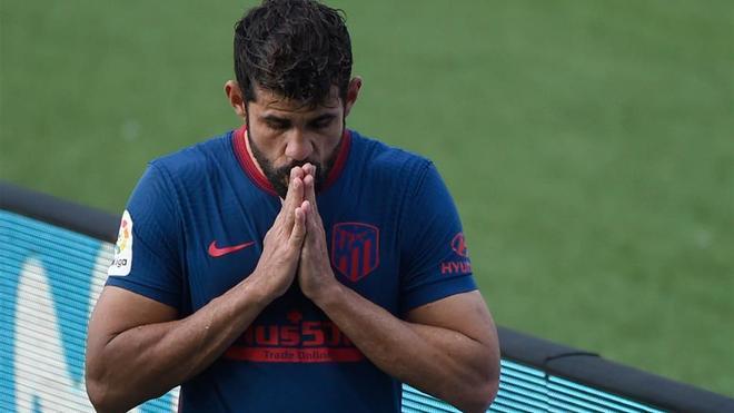 Diego Costa, en una imagen de archivo con el Atlético