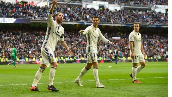 El Real Madrid se mantiene líder en la Liga Santander