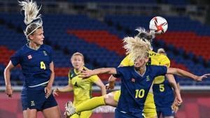 Suecia gana a Australia en fútbol femenino y repite final olímpica en Tokio-2020