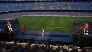 Sigue en directo la Asamblea General del FC Barcelona