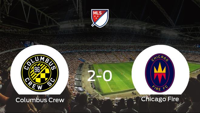 El Columbus Crewsuma tres puntos más ante el Chicago Fire (2-0)