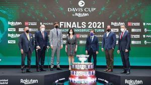 Acto de presentación de la nueva edición de la Copa Davis