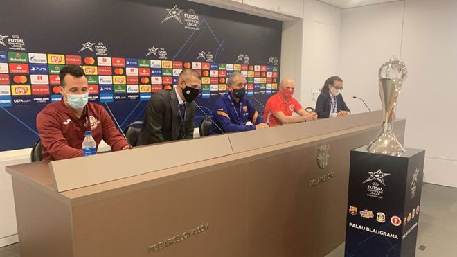 Rueda de prensa oficial de la Final Four con los cuatro entrenadores