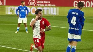 Monchu celebra el gol de la victoria