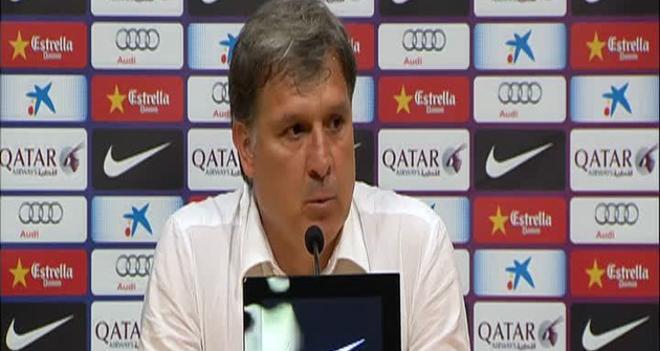 El Tata se despidió del banquillo del Barça