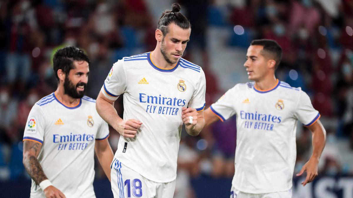 Bale abrió el marcador ante el Levante