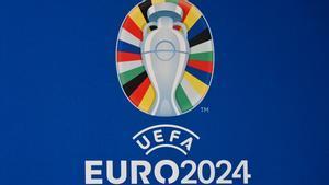 Logotipo oficial de la Eurocopa de Alemania 2024