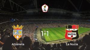 El Atzeneta y La Nucía se reparten los puntos tras su empate a uno