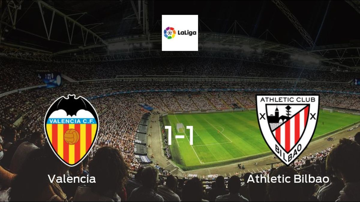 Points shared, as Valencia play out a 1-1 draw at the Mestalla