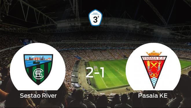El Sestao River vence 2-1 en su estadio frente al Pasaia KE