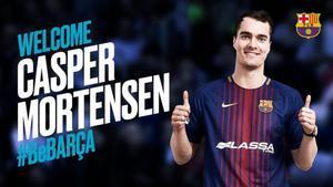 Una cara nueva para el Barça Lassa 2019-20