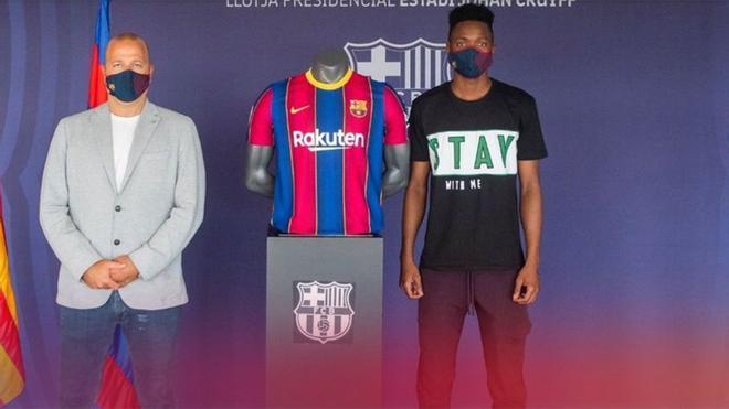 Moussa Ndiaye ya es nuevo jugador del Barça B