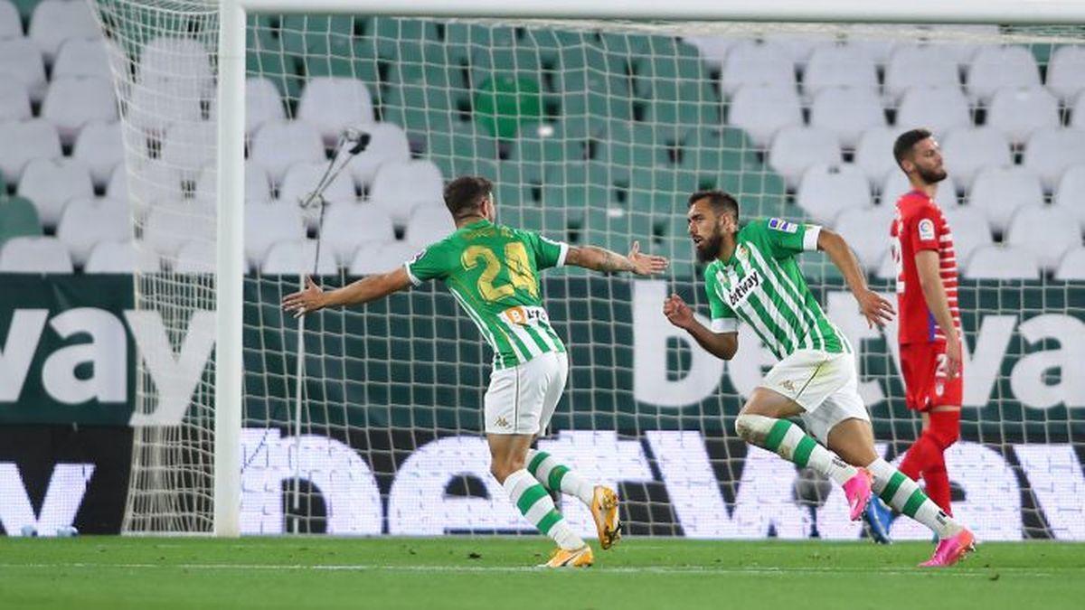 El Betis logró su primera victoria de la campaña en la última fecha contra el Granada