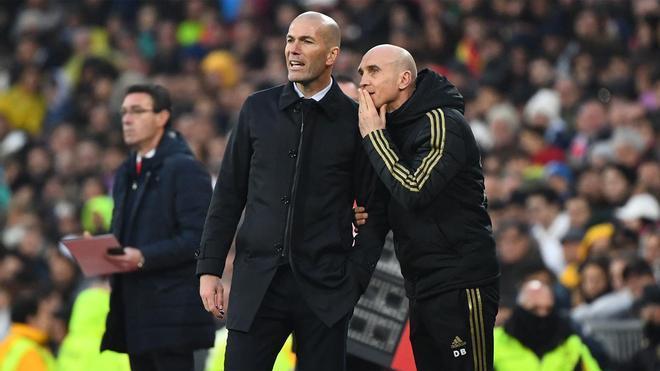 """Bettoni: """"Veo a Zidane cada mañana con una sonrisa y con alegría"""""""