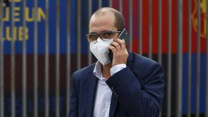 Jordi Farré tiene la certeza de que las firmas que avalan su candidatura son verdaderas