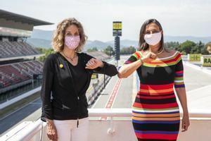 María Teixidor (derecha) es la nueva presidenta del Circuit