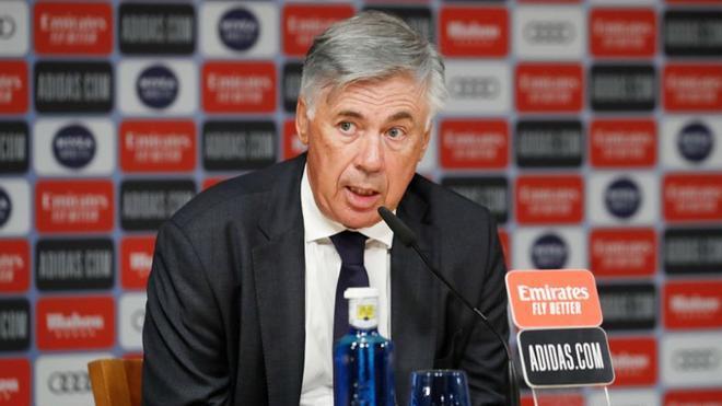 Sigue en directo la rueda de prensa de Ancelotti