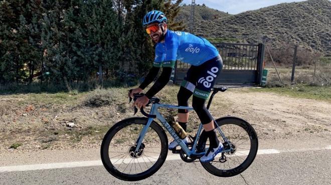 La última machada de Contador en su 'vuelta a Madrid' de 300km a ritmo