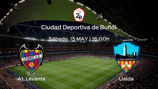 Previa del encuentro: el At. Levante recibe al Lleida Esportiu