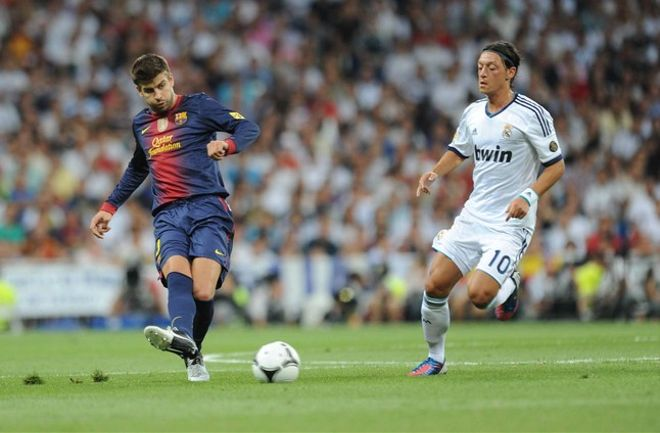 Fotografía del encuentro entre Barça y Madrid