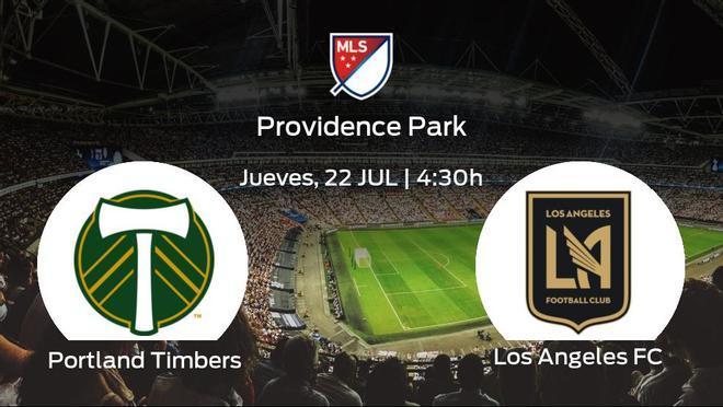 Jornada 19 de la Major League Soccer: previa del duelo Portland Timbers - Los Angeles FC