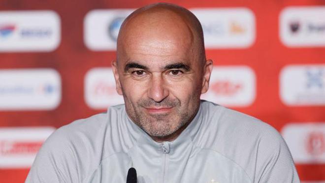 Roberto Martínez, seleccionador belga con más victorias