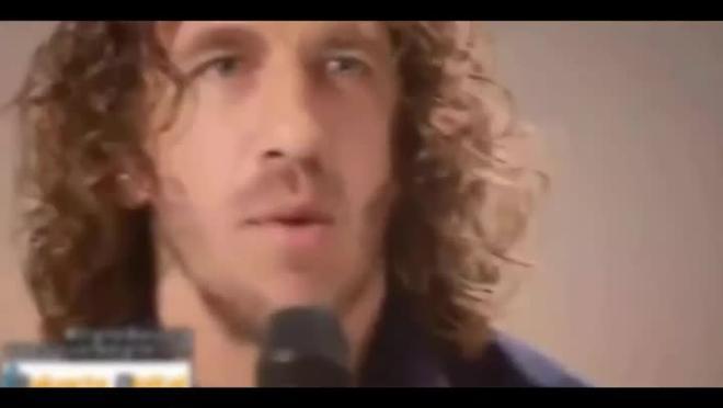 El vídeo de Carles Puyol