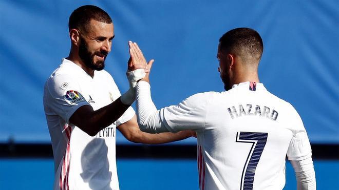 Benzema: Necesitamos al mejor Hazard
